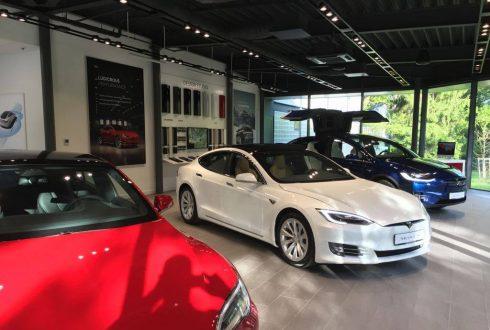 Tesla Nürnberg Duitsland