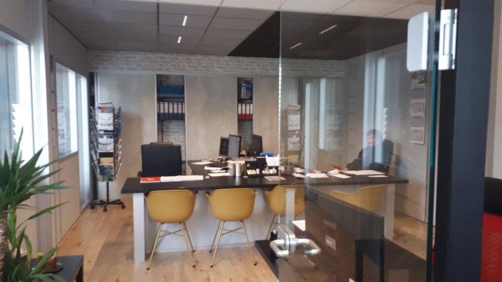 Verbouwing eigen kantoor
